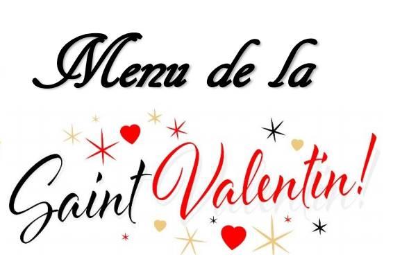 Menu de la Saint-Valentin